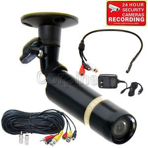 audio video security camera with sony ccd in/outdoor cctv