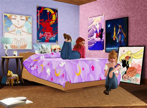 photo collection sims 3 blog my sims 3 blog sailor moon fangirl set by inabadromance