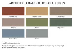 vinyl siding color chart alside vinyl siding color chart