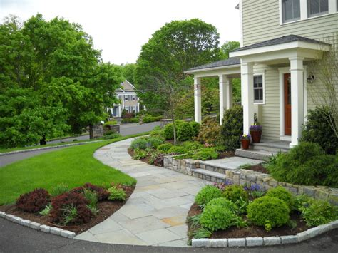 landscaping walkway to front door curved walkway leads to front door