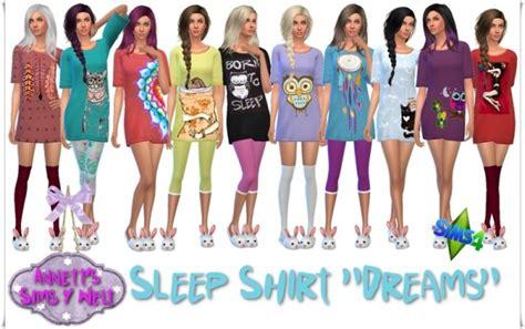 Cute Home Decor Websites by Annett S Sims 4 Welt Sleep Shirt Quot Dreams Quot By Annett Sims