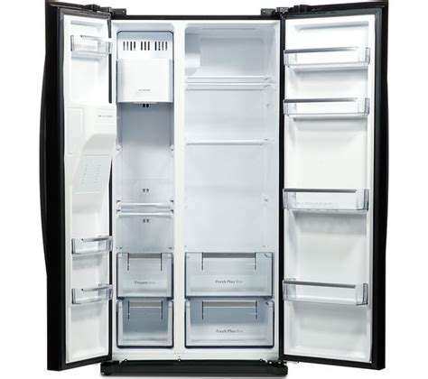 Tv Mobil Portable Daewoo 9 5 In Bagus With Rechargeable Li On Batter buy daewoo drq29deb american style fridge freezer black free delivery currys