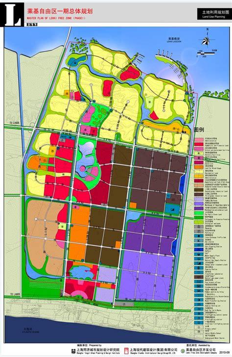land layout design online lfz master plan lekki free zone development company lfzdc
