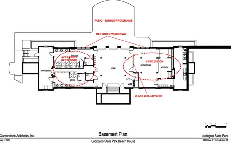 How To Design A Basement Floor Plan dnr ludington state park beach house renovation and