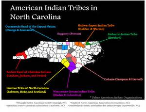 carolina indian tribes map map of carolina tribes and american indian
