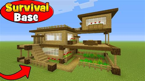 8 Tips To Make House Survivable by Minecraft Tutorial How To Make A Survival House In
