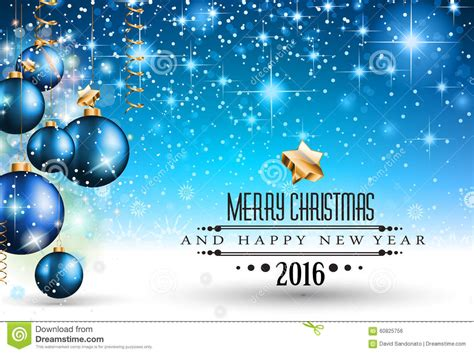 party title for christmas new year 2016 and happy new year flyer stock illustration image 60825756