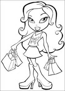 bratz coloring pages bratz coloring pages learn to coloring
