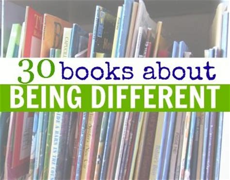 books about being different being yourself for