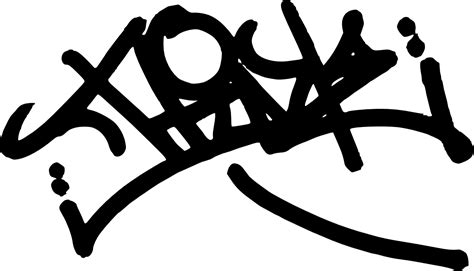 Tag Clear Black by Graffiti Transparent Hq Png Image Freepngimg