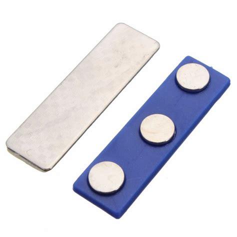 Id Card Holder Magnet Name Tag Holder Magnet Tempat Id Card Magnet magnetic name tag badge fastener id holder magnet strong badge holder magnet ebay