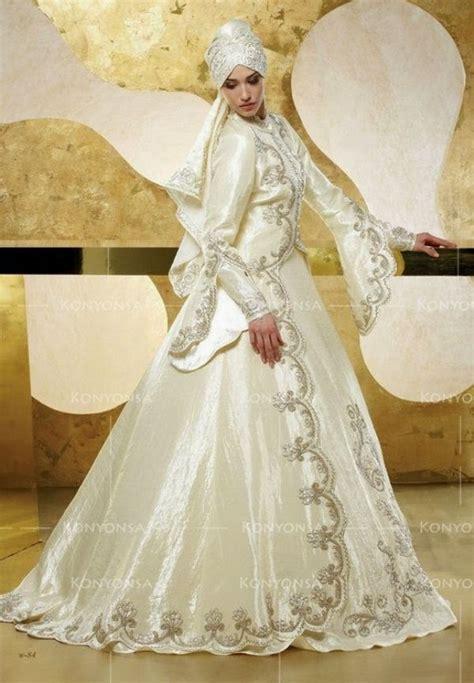 Baju Tunang Elegan contoh gaun pengantin muslimah elegan terbaru 2017