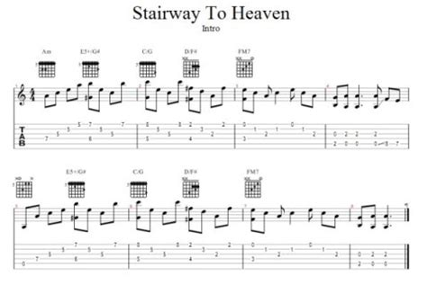 Chords To Stairway