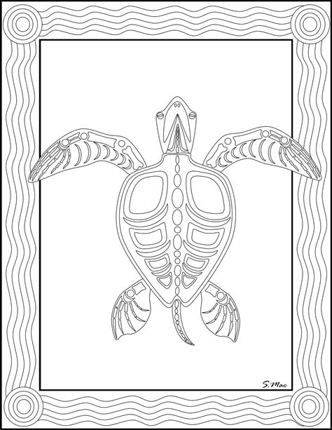 free coloring pages of australian indigenous art
