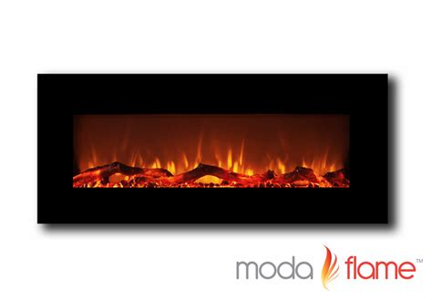 electric fireplace houston moda houston 50 quot electric wall mounted fireplace