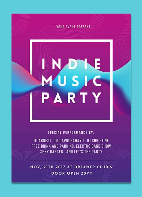 design event flyer 18 best new event flyers for 2018