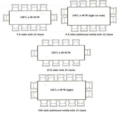 clever  size  table seats   images