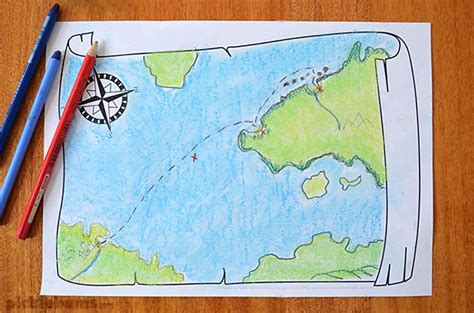 draw maps free map drawing prompt free printable picklebums