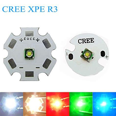 Lu Cree 4 Led Tangkai 10 pcs led cree xpe r3 chip 3w high power light xp e led