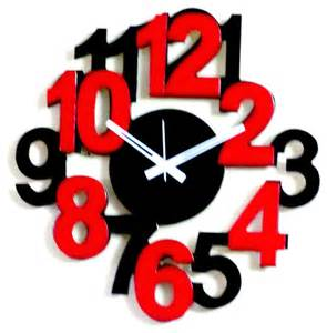 Best Modern Wall Clocks Funky Clock Designs Submited Images