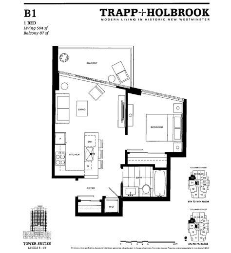 Trapp And Holbrook Floor Plans | new vancouver condos for sale presale lower mainland