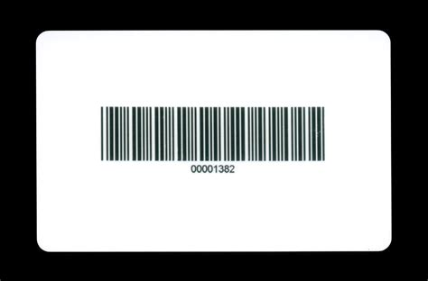 Gift Card Barcode - dci barcode cards