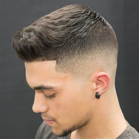 zero man hairstyle skin fade haircut bald fade haircut