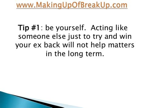 7 Tips On How To Get Your Ex Back From The Pros by 3 Tips For Getting Your Ex Back Fast And 2 Things To Avoid