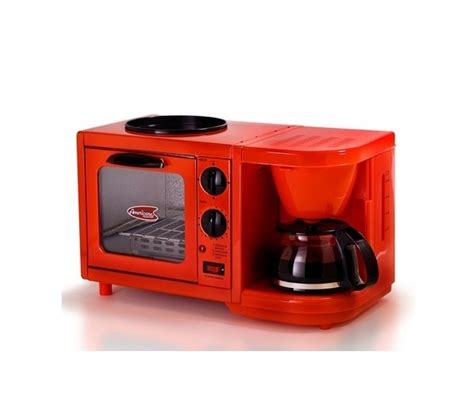 3 in 1 Multifunction Breakfast Deluxe   Red Dorm Room Item