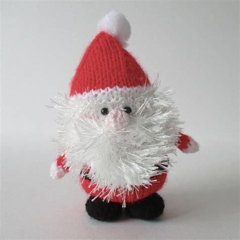 free knitting pattern xmas father christmas