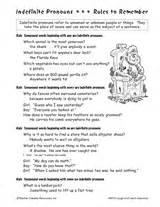 indefinite pronouns teachervision