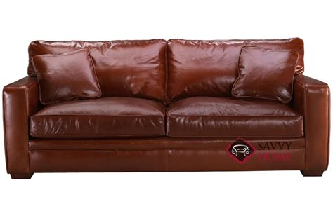 Leather Sofas Houston Houston Leather Sofa By Savvy Is Fully Customizable By You Savvyhomestore