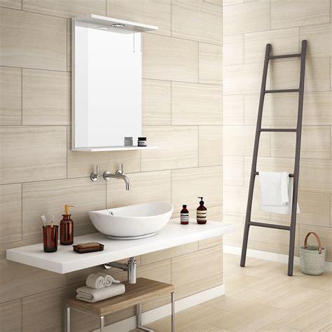 bad beige monza beige wood effect tile wall floor