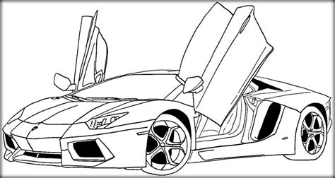 coloring pictures of cars the free printable car coloring pages to print color zini