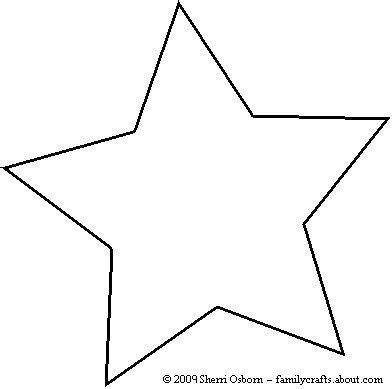 Christmas Star Template Printable