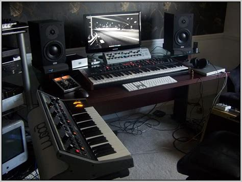 Home Recording Studio Desk Design Desk Home Design Home Studio Desk Design