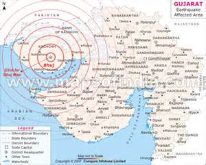 Newspaper Report Writing On Earthquake In Gujarat by Earthquake Map Of Gujarat