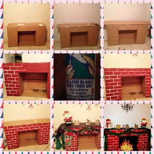 How To Make A Fireplace Out Of Paper - 17 best ideas about cardboard fireplace on