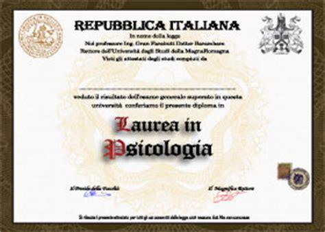 laurea in lettere on line lauree false crea e sta certificato di laurea