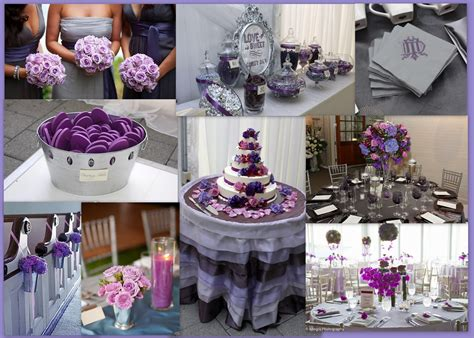 purple silver and white wedding table decorations wedding tip thursday choosing colors the pretty pear