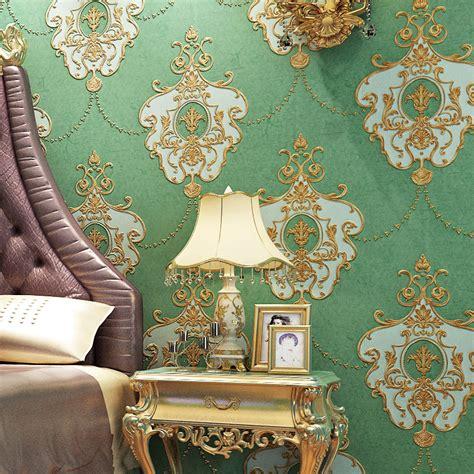 european style papel de parede damask wall paper