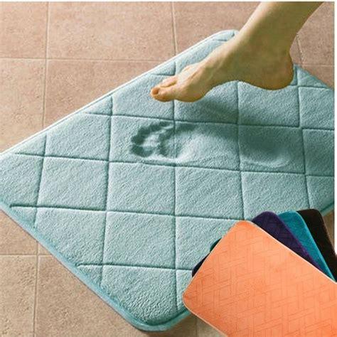 memory foam bathroom mat 35 creative bath mat ideas towards a great bath space