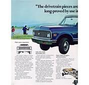 Car Brochures  1971 Chevrolet And GMC Truck
