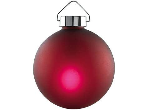 lunartec beleuchtete weihnachtsbaum kugeln aus glas