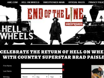 Sweepstakes Ending Tomorrow - amc quot end of the line quot sweepstakes