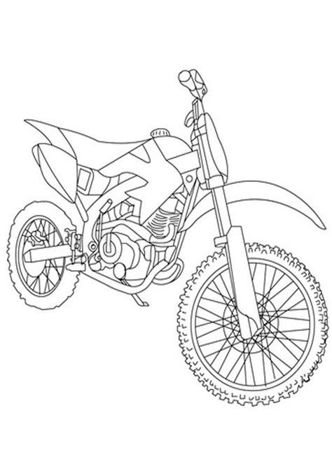 30 Disegni di Moto da Stampare e Colorare | PianetaBambini.it