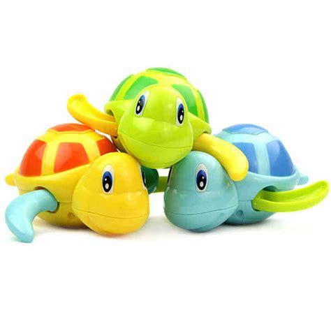 mainan kura kura berenang baby toys 6pcs multi color