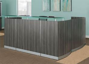 Gray Reception Desk Contemporary Reception Desk Modern Reception Desk Reception Furniture