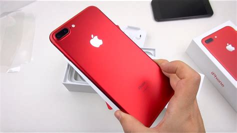 red iphone   unboxing close ups youtube