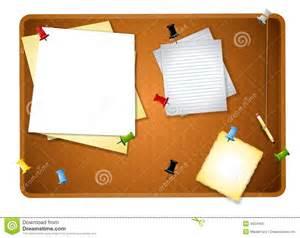 messy bulletin board background royalty free stock photo